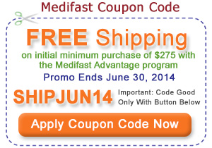 Find coupons for flat discounts, free shipping, buy one get one offers, and much more. USE YOUR MEDIFAST DISCOUNT CODE. Once you begin a Medifast plan, you will see the differences in your own body. While nothing can compare to good health, its even better when you get it at a discount with a Medifast coupon.