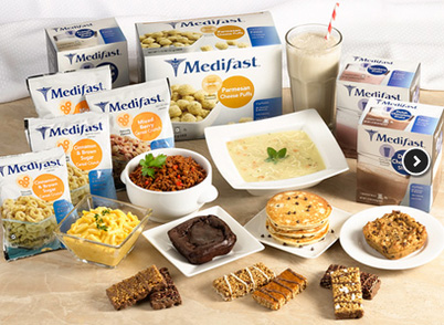 The Medifast diet program is based on the 5 & 1 Plan. Photo courtesy ...